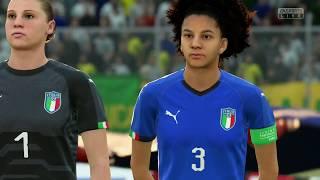 Coupe Du Monde Féminine 2019 Groupe C Jamaique VS Italie 14 Juin 2019 Sur Fifa 19