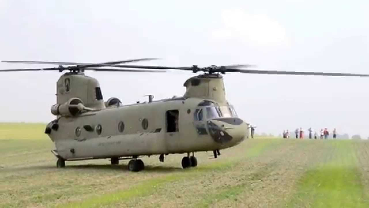 The US Army made a surprise helicopter landing in Poland ...