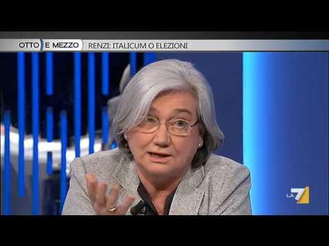 Otto e mezzo - Renzi: Italicum o elezioni (Puntata 22/04/2015)