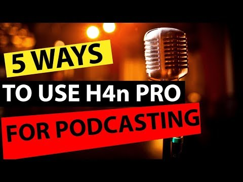 Zoom H4n Pro Review - 5 Different Uses for Zoom H4n Pro for Podcasting