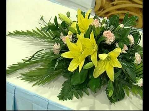 Trang trí hoa tươi Tết Nhâm Thìn 2012