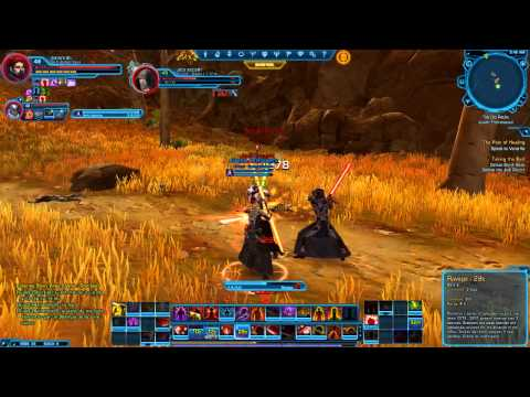Sith Warrior (Star Wars The Old Republic) - Server lag...