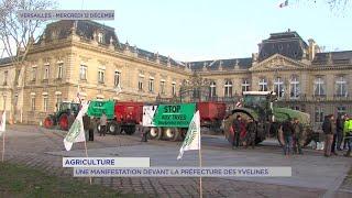 Yvelines | Agriculture : Une manifestation devant la Préfecture des Yvelines