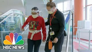 COVID-19 Survivors Speak Out After Double-Lung Transplants: 'This Is Not A Joke' | NBC Nightly News
