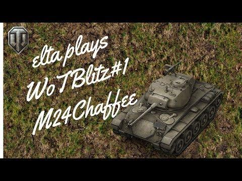 elta plays WoTBlitz#1M24Chaffee