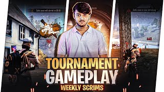 TOURNAMENTS GAMEPLAY OF FREEFIRE WEEKLY SCRIMS || TANEJA OP