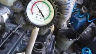 Двигатель G4ED-4099720 1.6 DOHC 112 л.с. – проверка компрессии
