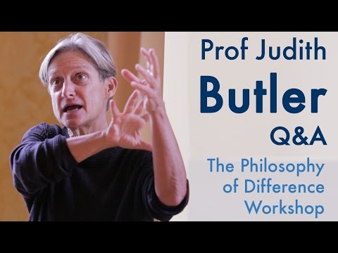 Transhumanism and current debates in Philosophy | Prof Judith Butler (2015)