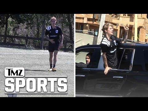 Justin Bieber Plays in Soccer Match in L.A. | TMZ Sports