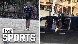 Video Justin Bieber Plays in Soccer Match in L.A. download MP3, 3GP, MP4, WEBM, AVI, FLV Maret 2018