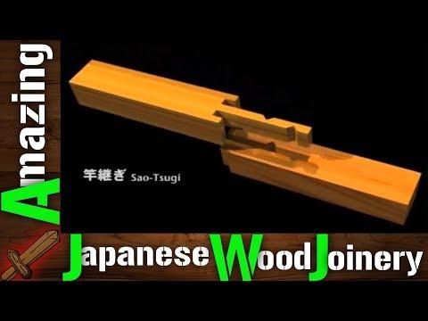 DIY Amazing Japanese Woodworking Joinery - Housed Splices (kakushi tsugi) - How to?