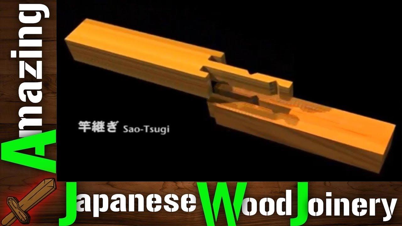 Diy Amazing Japanese Woodworking Joinery Housed Splices Kakushi