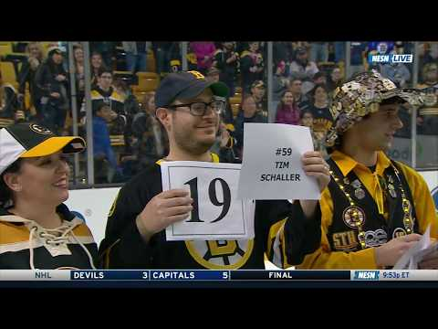 Boston Bruins 2018 Shirts Off Their Backs