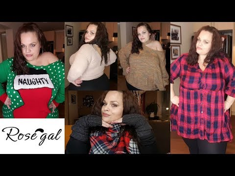 PLUS SIZE | COZY WINTER TRY ON HAUL FT. ROSEGAL