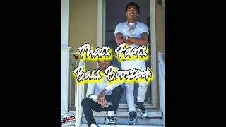 Lil Baby & Lil Durk - Thats Facts [Bass Boosted]