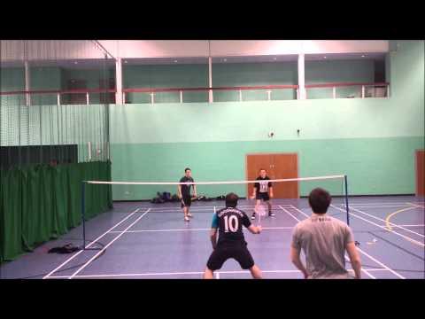 DFA Badminton 230214 Breakdown of Afraid to Shoot Strangers in time