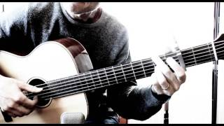 The Shadow of Your Smile on baritone guitar (TAB available)