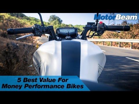 Top 5 Best VFM Performance Bikes in India | MotorBeam
