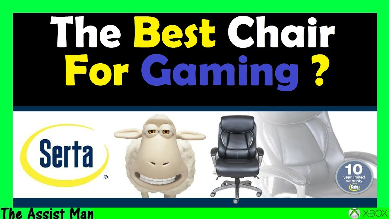 most comfortable computer chair. The Best \u0026 Most Comfortable Gaming Computer Chair Its NOT A DXRacer - Serta Jennings Review