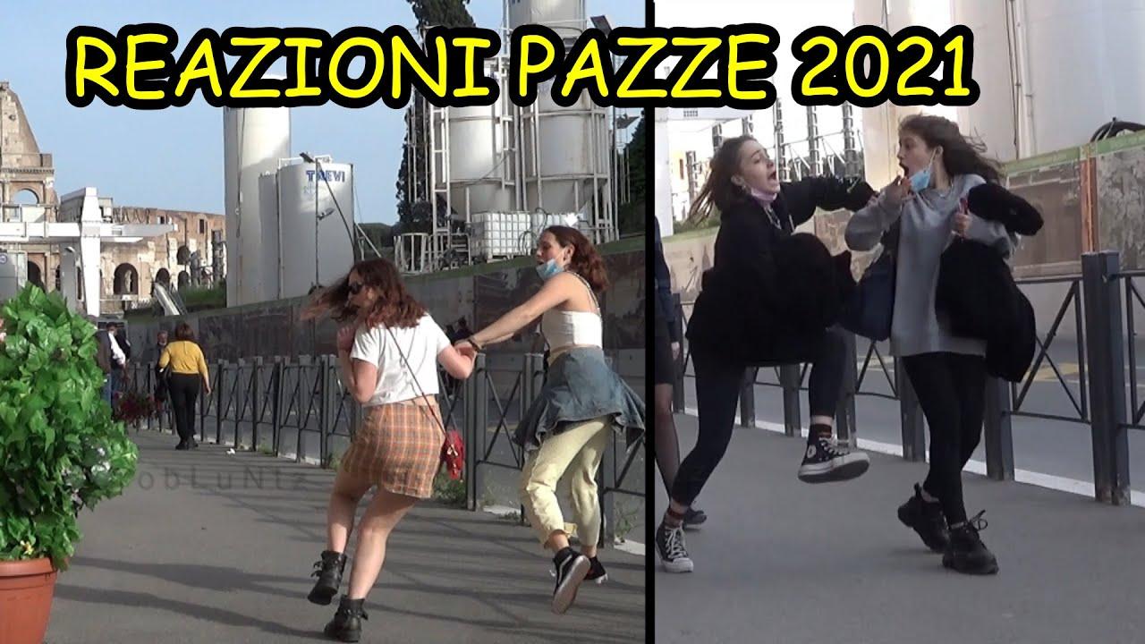 CRAZY REACTIONS COMPILATION 2021   COMPILAZIONE DI REAZIONI PAZZE 2021 BUSHMAN ITALY   MR CESPUGLIO