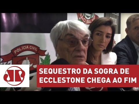 Ecclestone elogia trabalho da polícia em sequestro de sogra   Jornal da Manhã   Jovem Pan