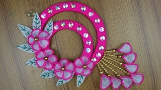 Home Decor Ideas - How To Make Beautiful Door/Wall Hanging || Best reuse ideas - DIY arts and crafts