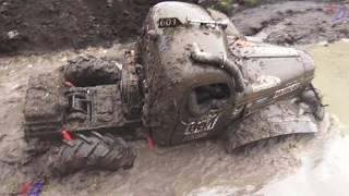 ZIL 157 In Off-road , Truck Show , Mud Race , 2016
