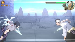 Naruto Shippuden Ultimate Ninja Impact Walkthrough Part 51 Sasuke vs Danzo Boss Battle (60 FPS)