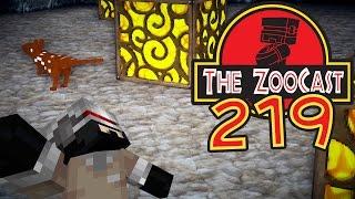 Minecraft Jurassic World (Jurassic Park) ZooCast - #219 Two Baby Dinosaurs!