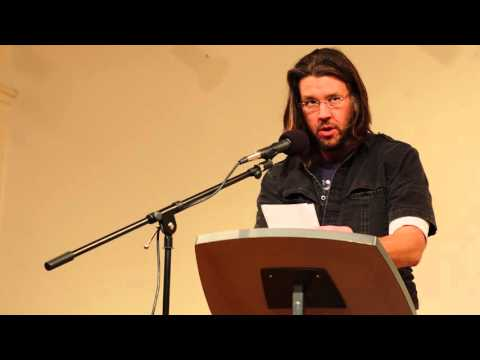 """David Foster Wallace reads """"Consider the Lobster"""" (on the 2003 Maine Lobster Festival)"""