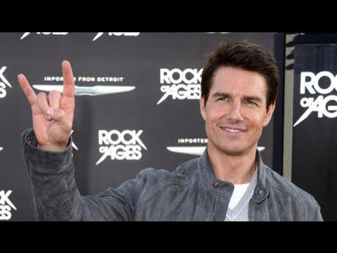 Tom Cruise Talks Katie Holmes at the Rock of Ages London Premiere