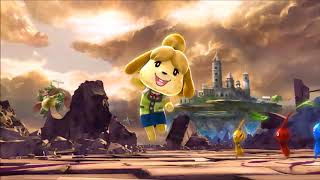 Super Smash Bros Ultimate. commercial but with Melee's menu theme