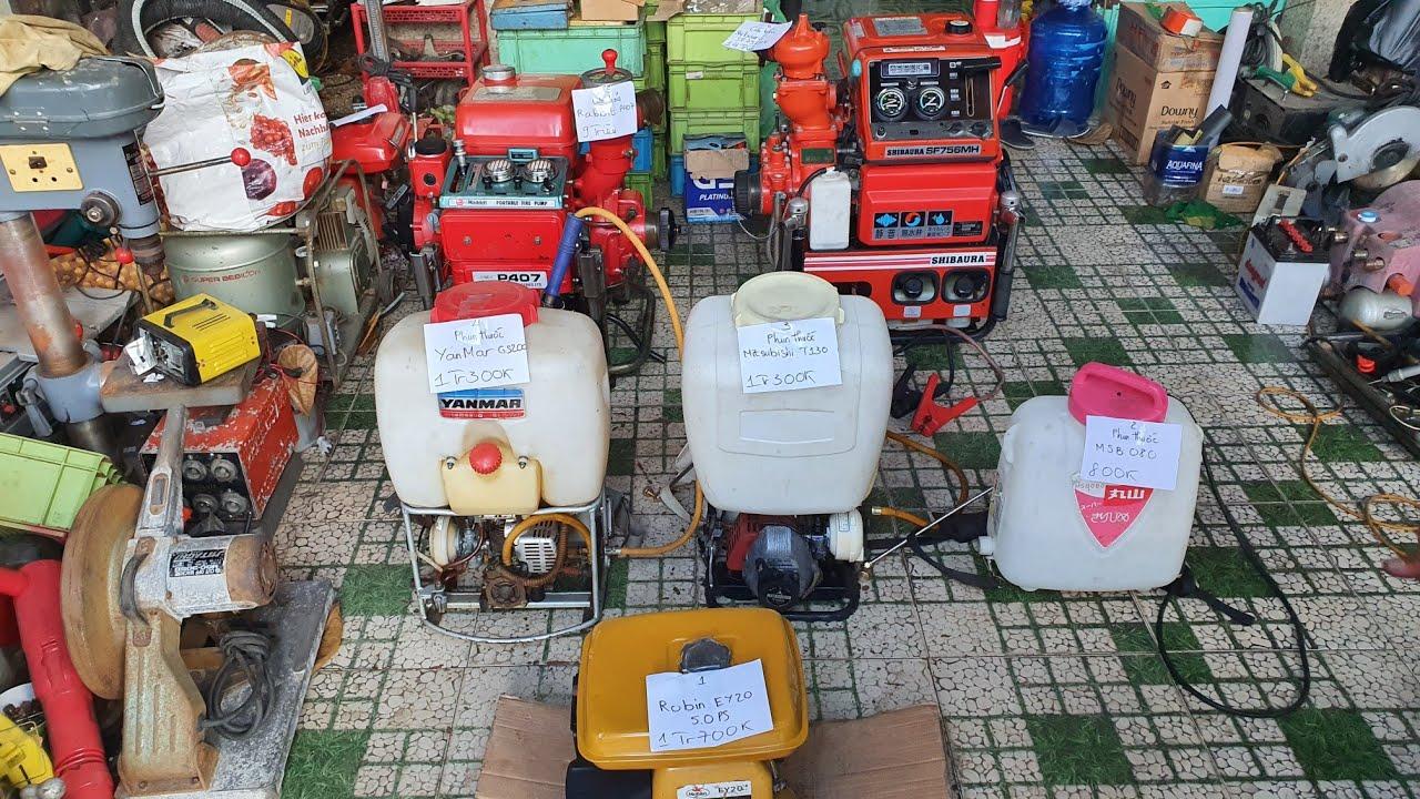 """Phun thuốc , Cứu hỏa Rabbit , Shibaura """"Khủng"""" của Nhật có đề   LH 0914711438   Ngày 22/6/2020"""
