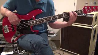 Dig a Pony Bass Cover
