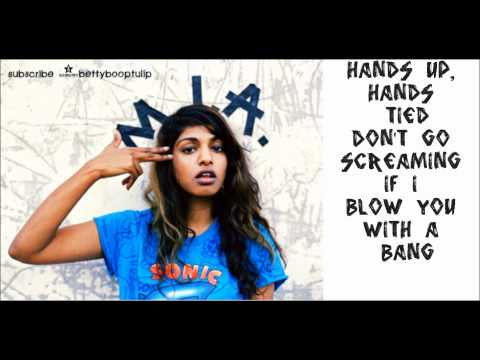 M.I.A. Bad Girls Lyrics