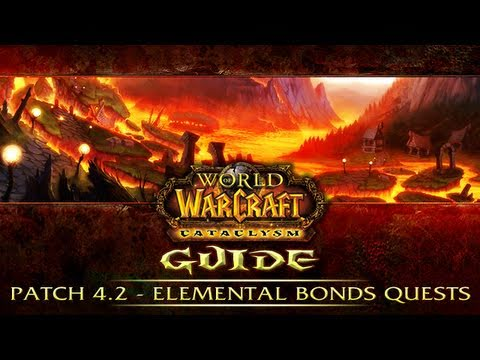 WoW 4.2 - Thrall's Elemental Bonds Questline - Long, Major S
