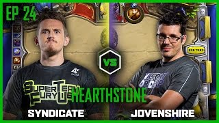 EP 24 | HEARTHSTONE | Syndicate vs Jovenshire | Legends of Gaming
