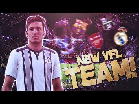 FIFA 18 Pro Clubs | MY NEW VFL CLUB!?