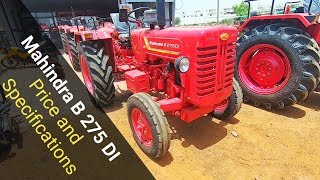 Mahindra B 275 di Tractor Price and Specifications Review New Model