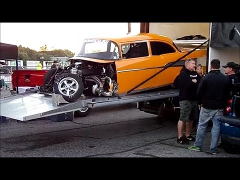 Memphis International Raceway >> Street Outlaws (Daddy Dave vs Jeff Lutz) Lutz Wreck - YouTube