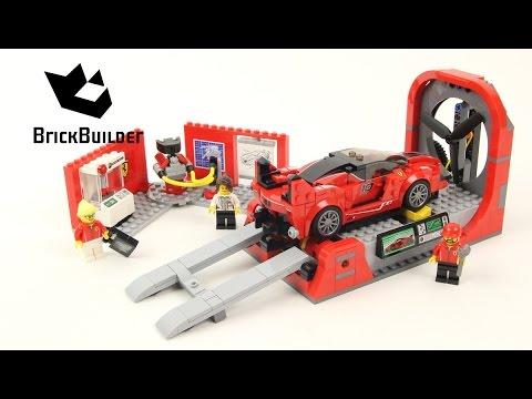 Lego Speed Champions 75882 Ferrari FXX K & Development Center - Lego Speed build