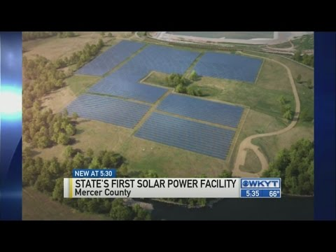 Kentucky's first solar power facility coming to Mercer County