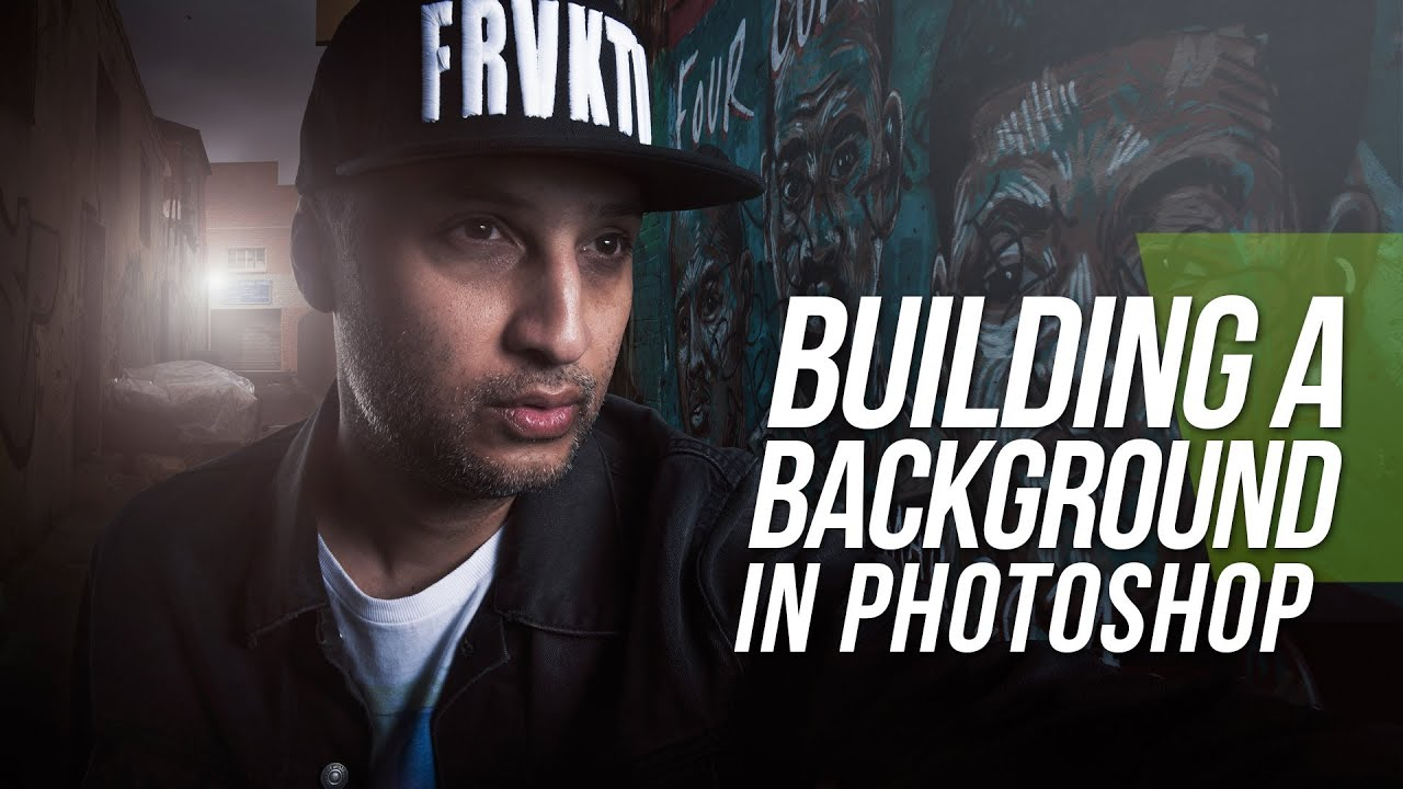 Building A Background - Photoshop Tutorial