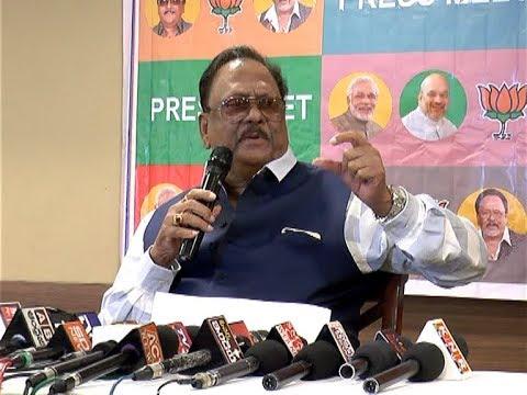 cash crunch/Cash crisis : former union minister U.V. Krishnam Raju