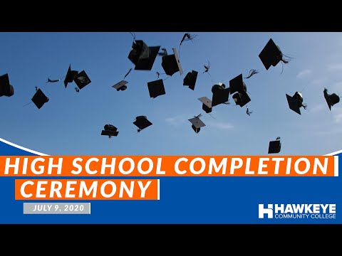 Hawkeye Community College - High School Completion Graduation