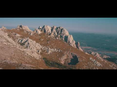 AMAZING CROATIA from the sky in 4K // VELEBIT Mountains