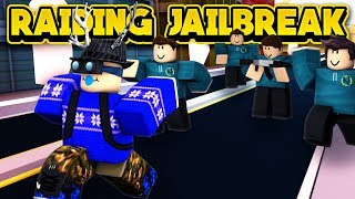 RAIDING JAILBREAK SERVERS WITH FANS! (ROBLOX Jailbreak)