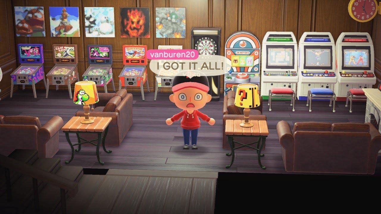 Every Arcade Item In Animal Crossing New Horizons!