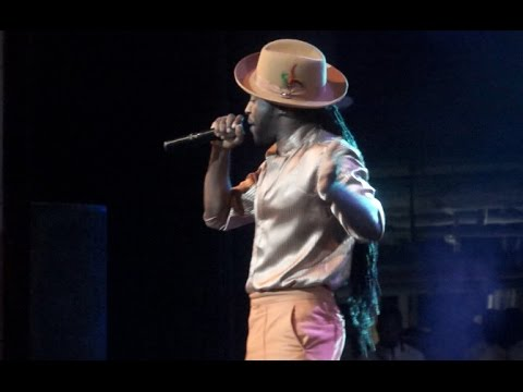 Reggie Rockstone - Sings for wife at Girl Talk concert 2015 with Efya | GhanaMusic.com Video
