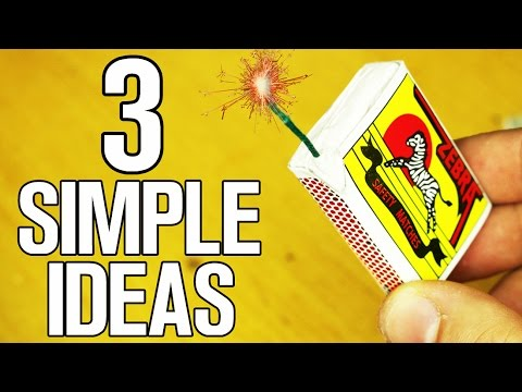 Thumbnail: 3 Simple ideas and Life Hacks